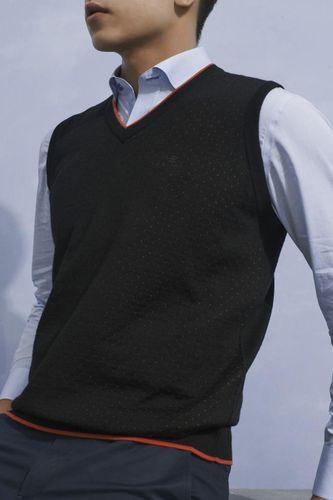 Áo Len Nam Giovanni UA010-BL Màu Đen Size 50
