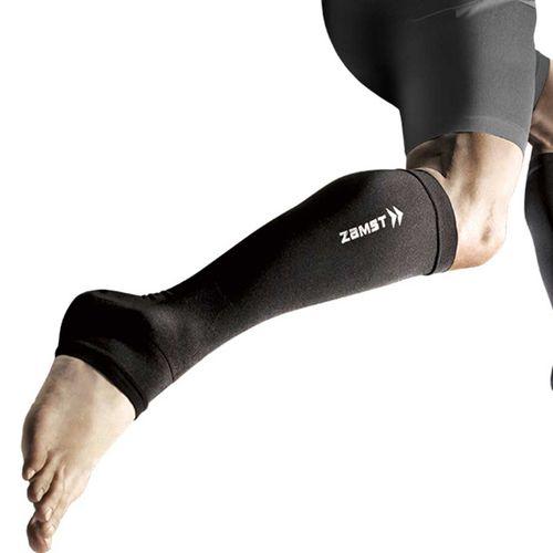 Băng Bảo Vệ Bắp Chân Và Mắt Cá Chân Zamst Calf Ankle Sleeve Màu Đen Size LL