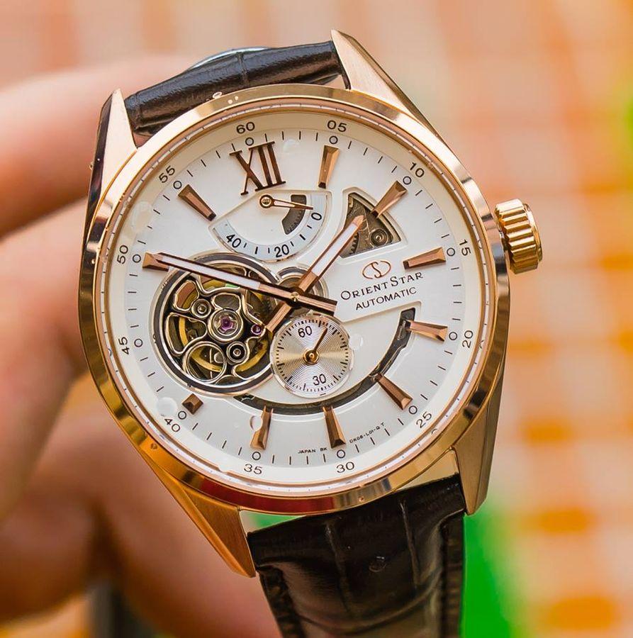 7 chiếc đồng hồ Orient Watch dây da Nam chính hãng Nhật, 100m giảm giá tới 20% 13