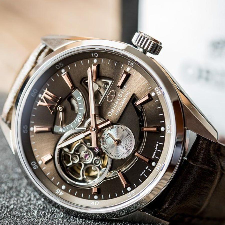 7 chiếc đồng hồ Orient Watch dây da Nam chính hãng Nhật, 100m giảm giá tới 20% 3