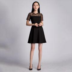 Váy pha ren ngực