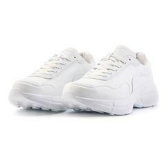 Giày Domba Moonlake White H-9214 Màu Trắng Size 37.5