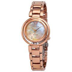 Đồng Hồ Citizen EM0323-51N Sunrise Diamond Ladies Watch