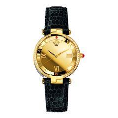 Đồng Hồ Versace VAI210016 Revive Gold Mirror Ladies 35mm Cho Nữ