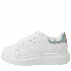 Giày Domba High Point Hg (White/Hologram) H-9019 Màu Trắng Size 37