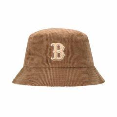 Mũ MLB Corduroy Bucket Boston Red Sox 32CPHS001-43A Màu Nâu