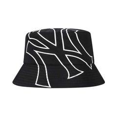 Mũ MLB Caps Across Logo Series Fisherman Hat New York Yankees 32CPHN011-50L Màu Đen