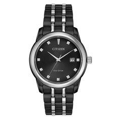 Đồng Hồ Citizen Nam BM7348-53E Corso Eco-Drive Black Diamond Dial Men's Watch