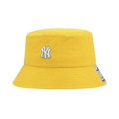 Mũ MLB Pride Tag Overfit Bucket Hat New York Yankees 32CP35111-50D Màu Vàng