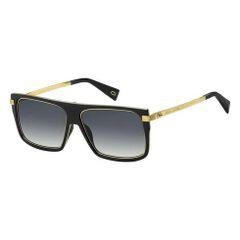 Kính Mát Marc Jacobs Men's Black Rectangular Sunglasses 499678