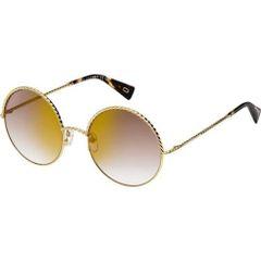 Kính Mát Marc Jacobs Ladies Gold Tone Oval Sunglasses 503781