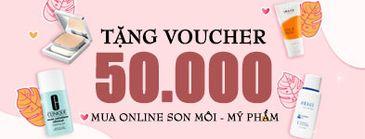 Tặng Voucher 50K Mua Son 20-10