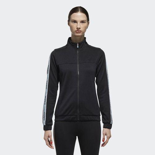 Áo Adidas W Sport Inspired Recrafted Track Jacket Black DM4326 Size 2XS