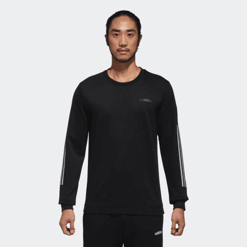 Áo Adidas M Neo 3-Stripes Sweatshirt Black DM4257 Size L
