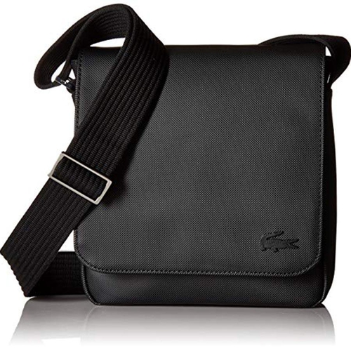 Túi Lacoste Men's Flap Crossover Bag Black