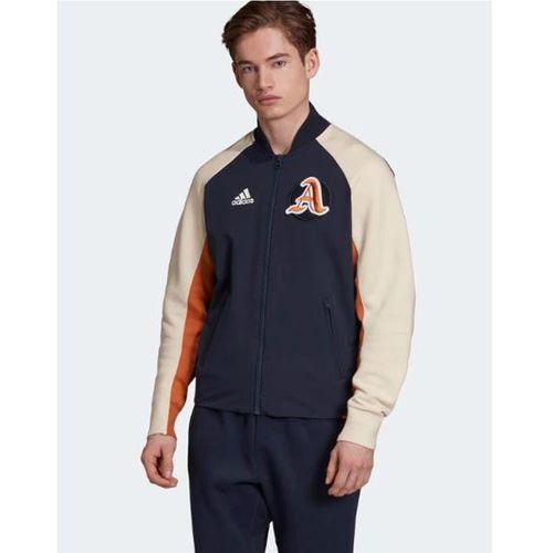 Áo Khoác Adidas Men's Athletics Vrct Jacket Xanh Navy Size L