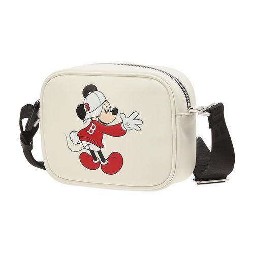 Túi MLB X Disney Camera Bag Boston Red Sox Màu Trắng