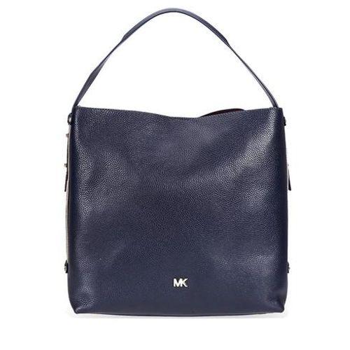 Túi Xách Tay Michael Kors Griffin Large Pebbled Leather Shoulder Bag Màu Đen