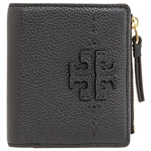 Ví Nhỏ Tory Burch McGraw Bi-Fold Mini Wallet- Black Màu Đen