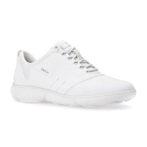 Giày Thể Thao Nữ Geox D NEBULA A PRINT.TEXT+TEXT Màu Trắng Size 39