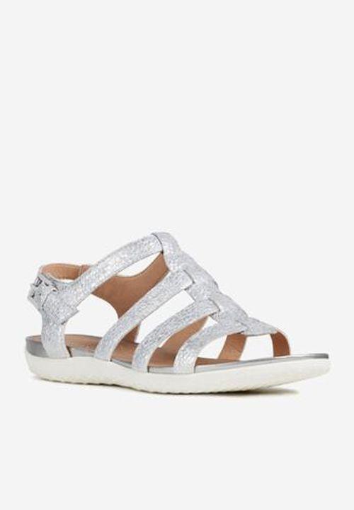 Sandals Nữ Geox Sand Vega A D72R6A Màu Bạc Size 38
