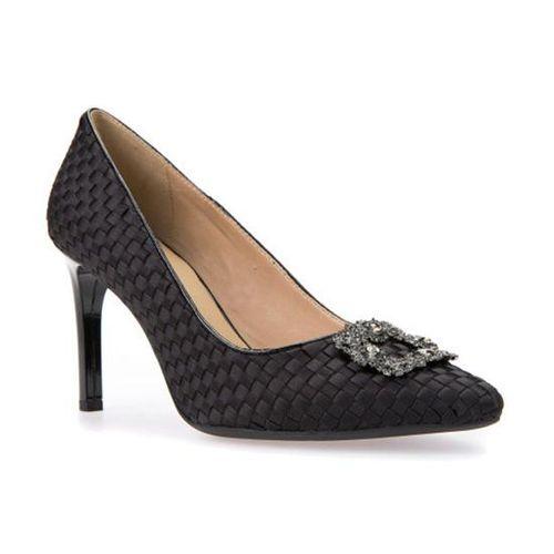 Giày Cao Gót Geox D FAVIOLA A Màu Đen Size 39