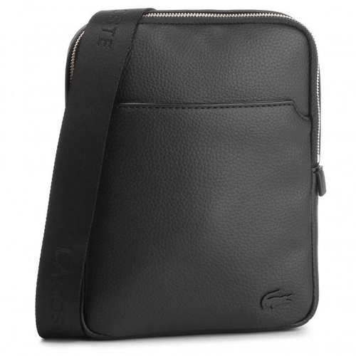 Túi Lacoste Men's Small Leather Goods Black