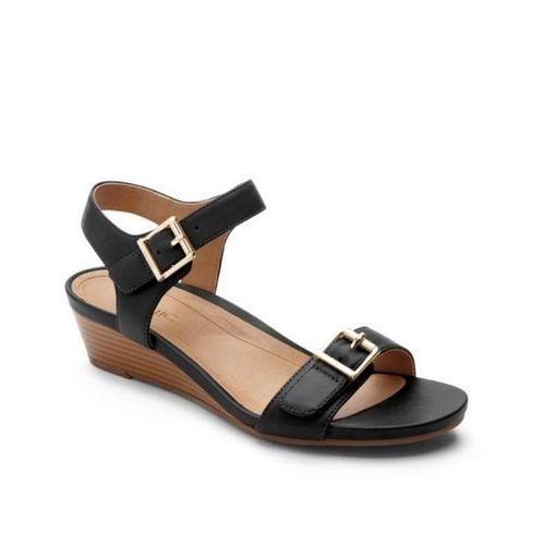 Giày Sandals Nữ Vionic W Port Frances Backstrap We (10001154) Black - Us 7
