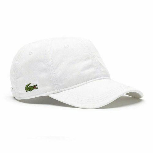 Mũ Lacoste Men's Gabardine Cap White Màu Trắng