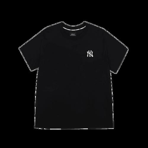 Áo Phông MLB New York Yankees Popping Big Logo Short Sleeve T – Shirt Black Size 90