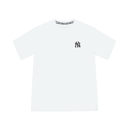Áo Phông MLB New York Yankees Popping Big Logo Short Sleeve T – Shirt White Size 105