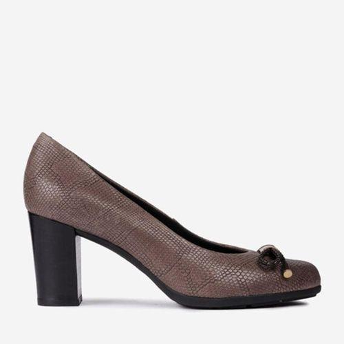 Giày Cao Gót Geox D ANNYA A PR. BUFFALO Màu Nâu Size 35