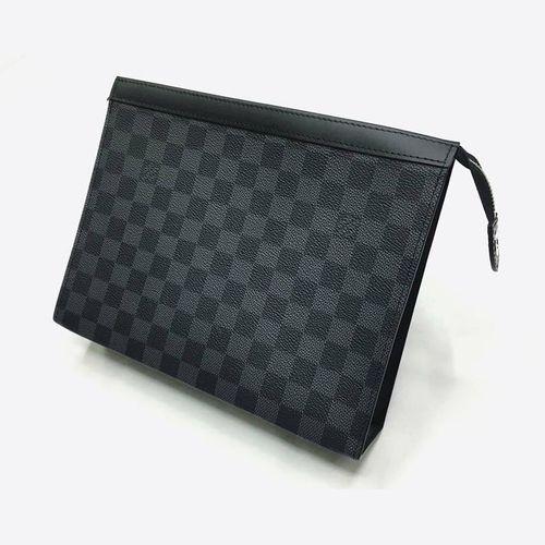 Túi Louis Vuitton Voyaga MM Damier Graphite Clutch
