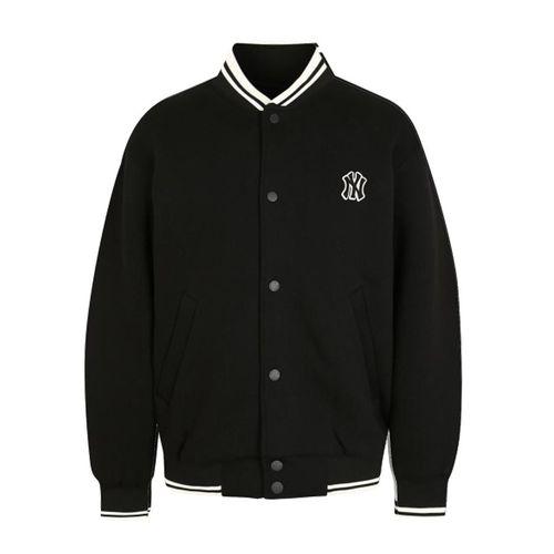 Áo Khoác Nỉ MLB New York Yankees Neoprene Baseball In Black Màu Đen