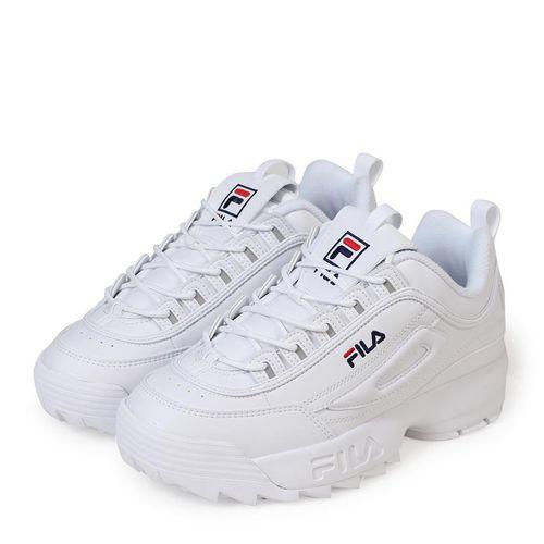 Giày Fila Unisex Disruptor 2 All White Size 38