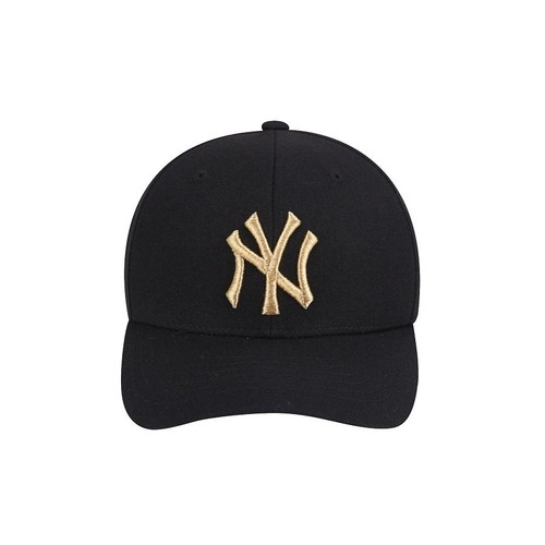 Mũ MLB New York Yankees Glam Adjustable Cap Black