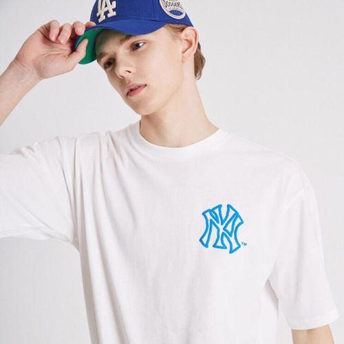 Áo Phông New York Yankees MLB Like Short Sleeve T - Shirt Trắng Size 90