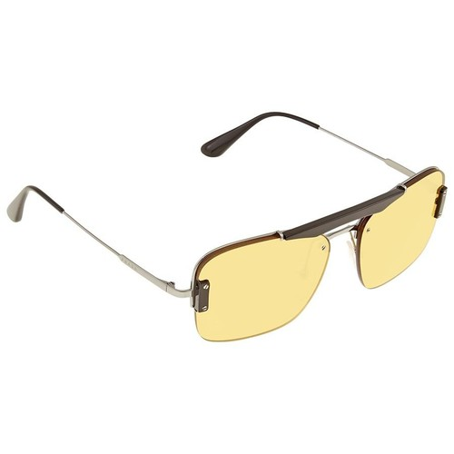 Kính Mát Prada Yellow Square Unisex Sunglasses