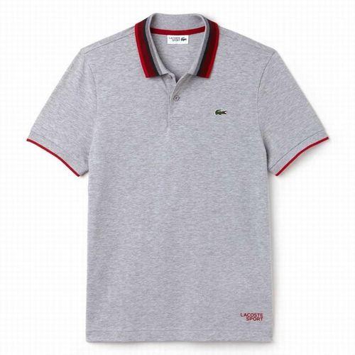 Áo Phông Nam Lacoste Camisa 100% Originales YH9460 Màu Xám