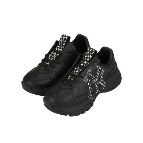 Giày Sneaker MLB Bigball Chunky Mono LT Màu Đen Size 240