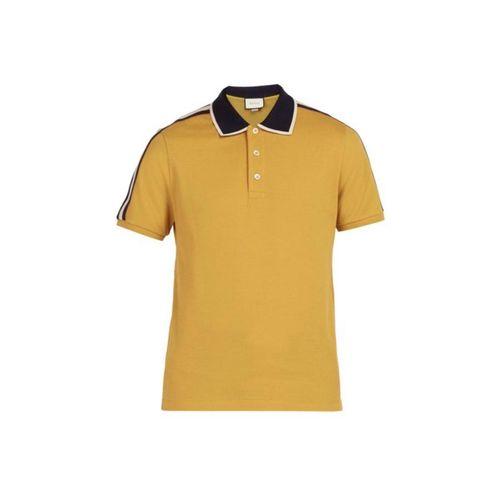 Áo Polo Gucci New SS Màu Vàng