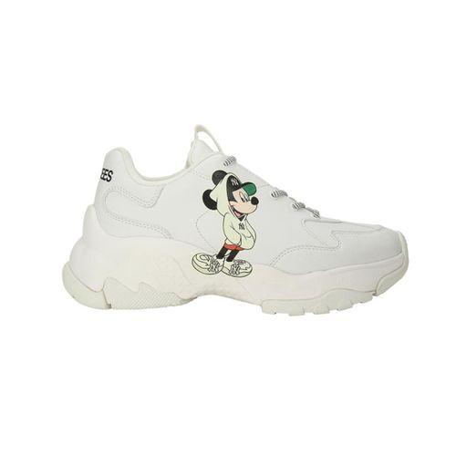 Giày Sneaker MLB Big Bull Chunky Mickey New New York Yankees Màu Trắng Size 260