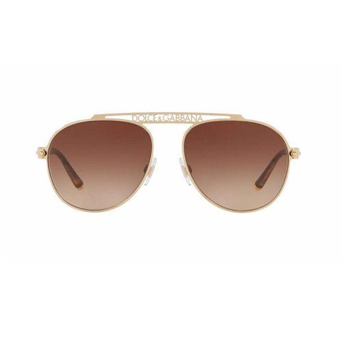 Kính Mát Dolce & Gabbana DG2235 Gold/Brown Gradient Lens
