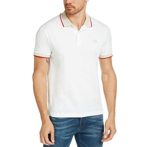 Áo Phông Lacoste Men's Solid Polo Shirt Màu Trắng Size S