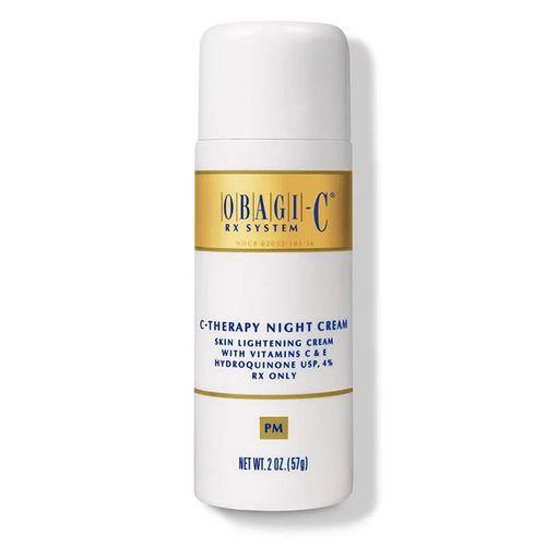 Kem Dưỡng Trắng Da, Hỗ Trợ Giảm Nám Ban Đêm Obagi C Rx C- Therapy Night Cream 57g