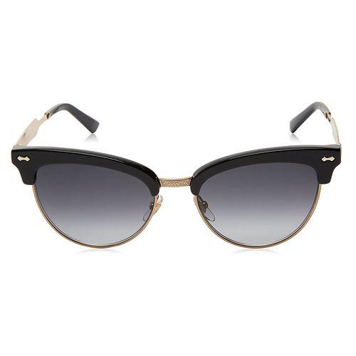 Kính Mát Gucci Cateye Clubmaster Sunglasses in Black Palladium GG 4283 Màu Đen