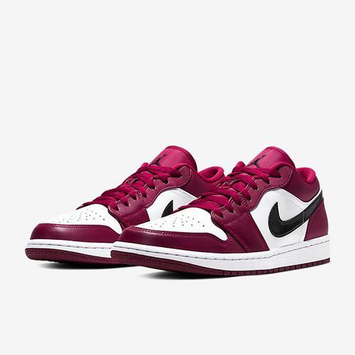Giày Nike Jordan 1 Low Noble Red 553558-604 Màu Đỏ Size 41