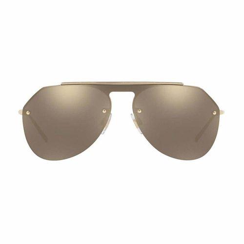 Kính Mát Dolce & Gabbana Pale Gold / Light Brown Mirror Gold Lens
