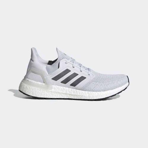 Giày Thể Thao Adidas Ultra Boost 20 Màu Xám Đen Size 42.5