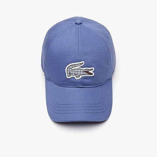 Mũ Lacoste Check Croc Badge Cotton Màu Xanh Blue